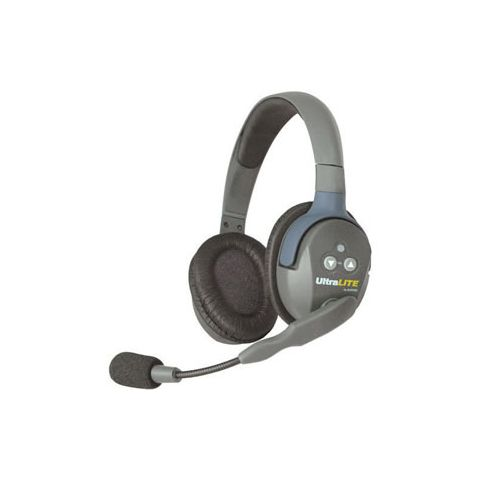 Eartec UltraLITE Double Master Headset with Microphone and Rechargeable Lithium Battery