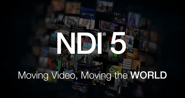 NDI® 5 Moves Video & Audio Anywhere In The World - For Free!