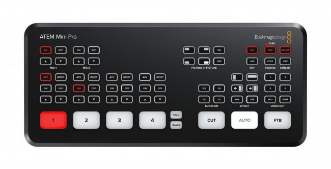 Blackmagic Design Announces New ATEM Mini Pro